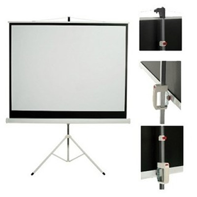 Ft screens pantalla para proyector 75 con tripode tr75 for Pantalla para proyector
