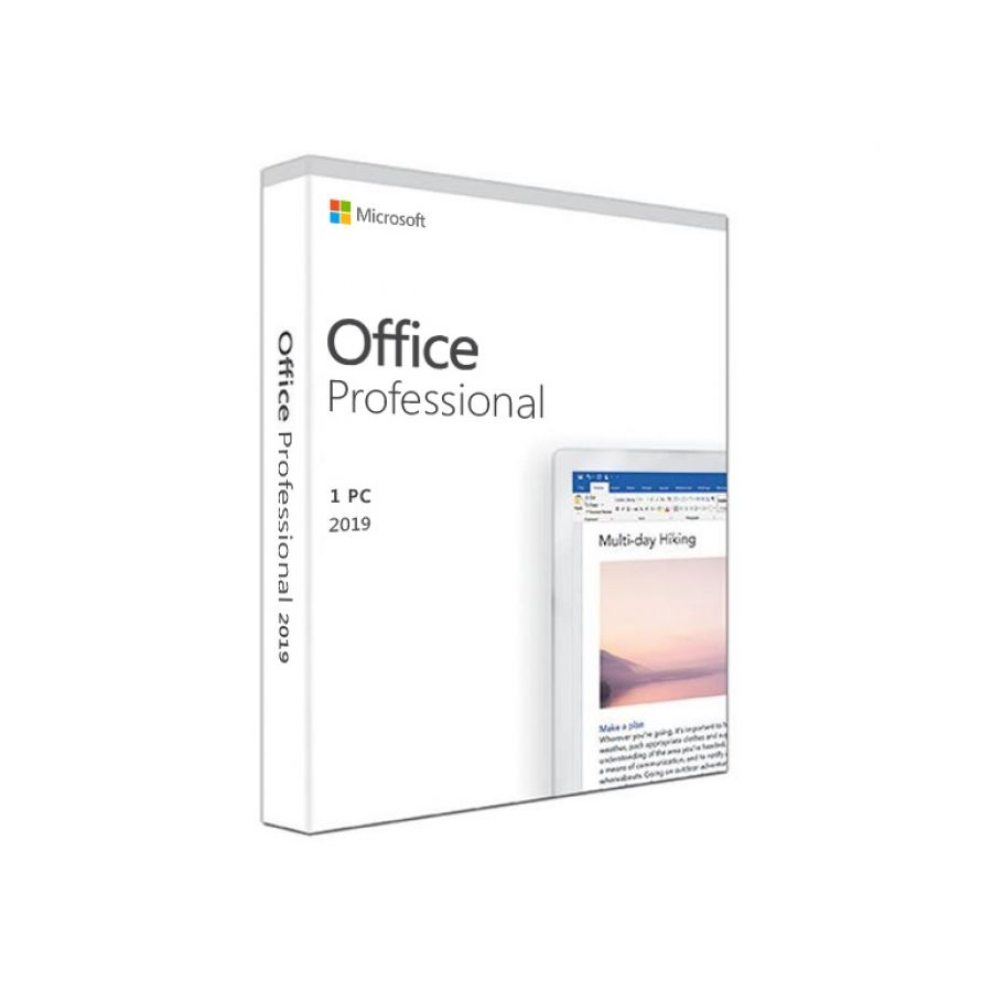 Microsoft Office 2019 Profesional 1PC Key Digital